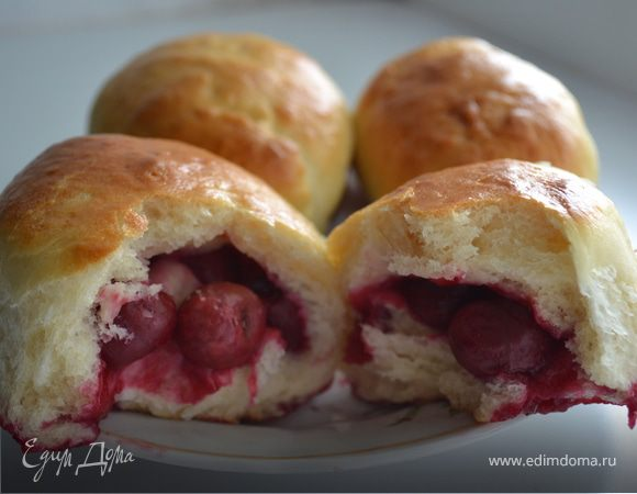 Пирожки с вишнями суппер рецепт!