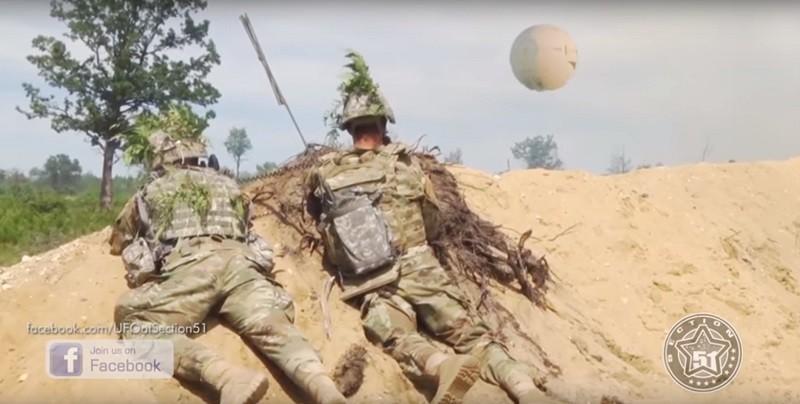 В Германии на военных учения…