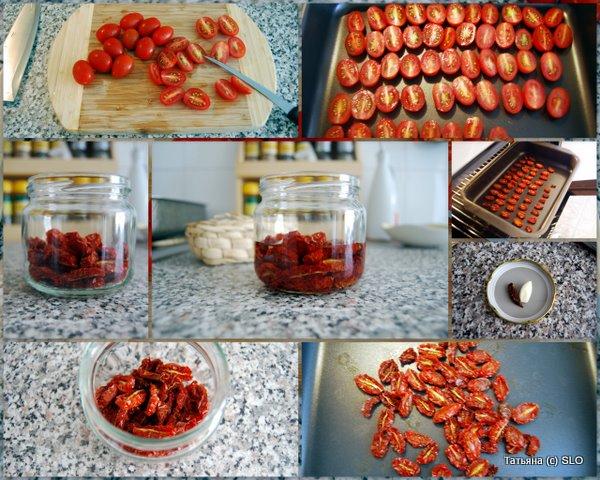 Вяленые помидорчики ко дню приезда моей приятельницы MZ. Фото-рецепт.
