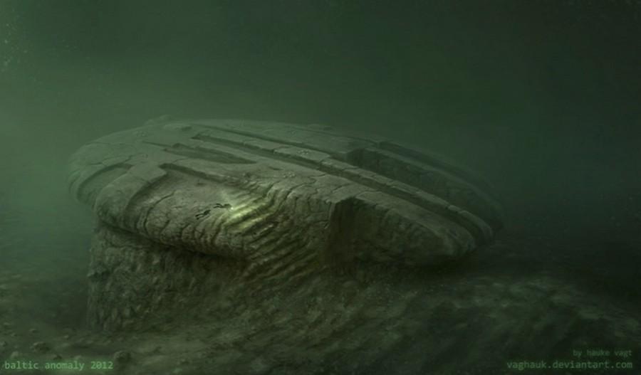 Балтийская аномалия: странный круглый объект жизненное