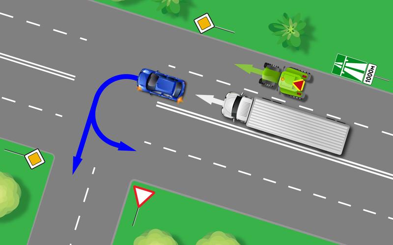 Найди нарушителя на схеме: простой тест с подвохом авто и мото,автоновости,пдд
