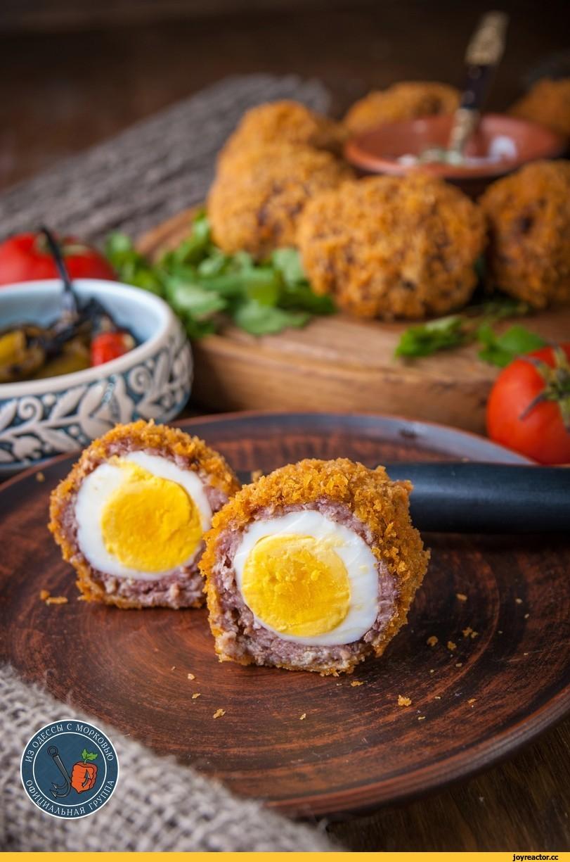 Яйцо по-шотландски для Хобби…