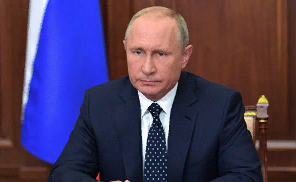 Путин выразил соболезнования в связи с гибелью Захарченко