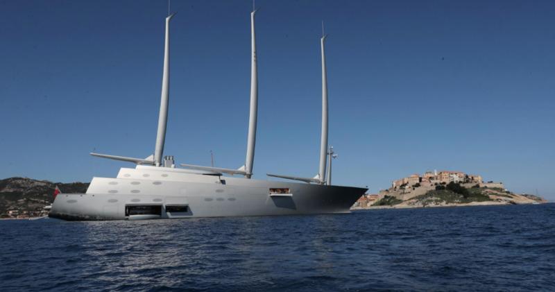 Яхта Мельниченко за 360 миллионов долларов