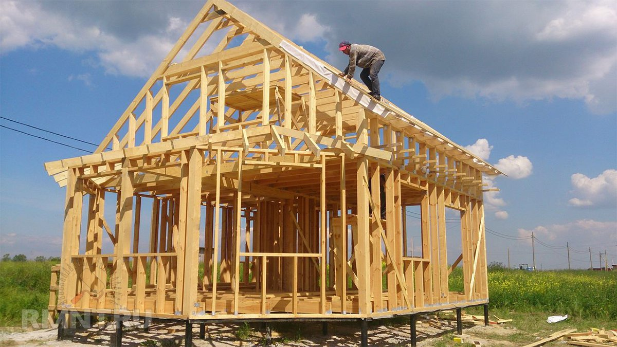 поэтапное строительство дачного дома фото спешат