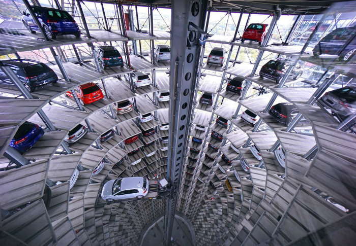 Завод Volkswagen.
