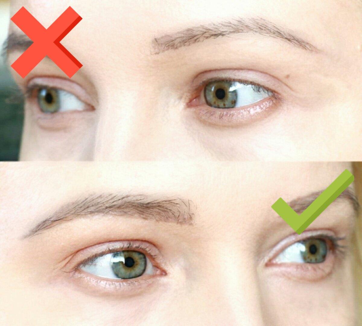 Почему тонкие брови старят женщин средних лет.