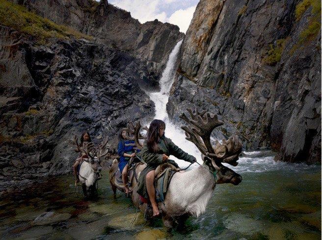Последние кочевые оленеводы Монголии