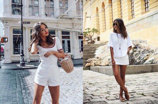 Total white - лучший выбор для лета: 10 обворожительных образов на любой случай