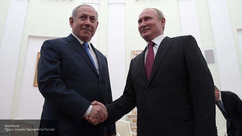 Песков рассказал о предстоящих контактах Путина и Нетаньяху