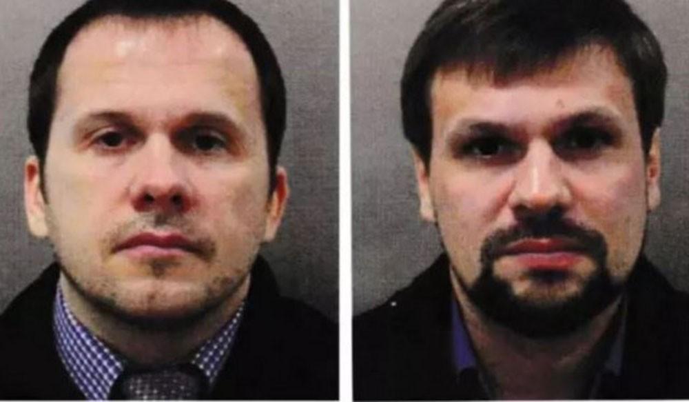 Эксклюзивное видео с «подозреваемыми» по делу Скрипалей Петровым и Бошировым