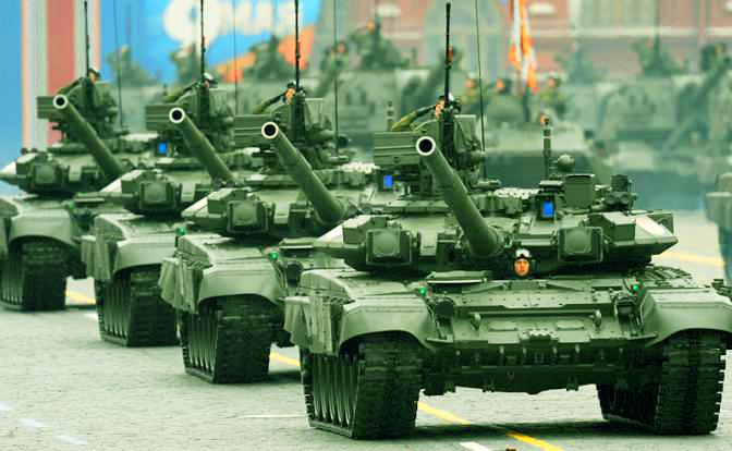 """""""Русские на танках проедут п…"""