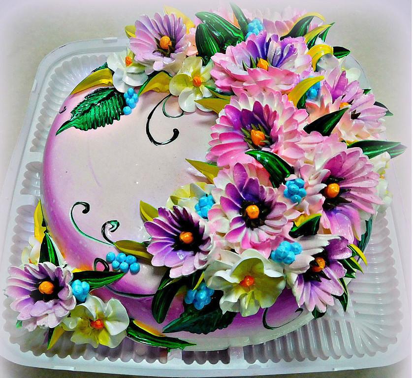 Открытки для торта из мастики