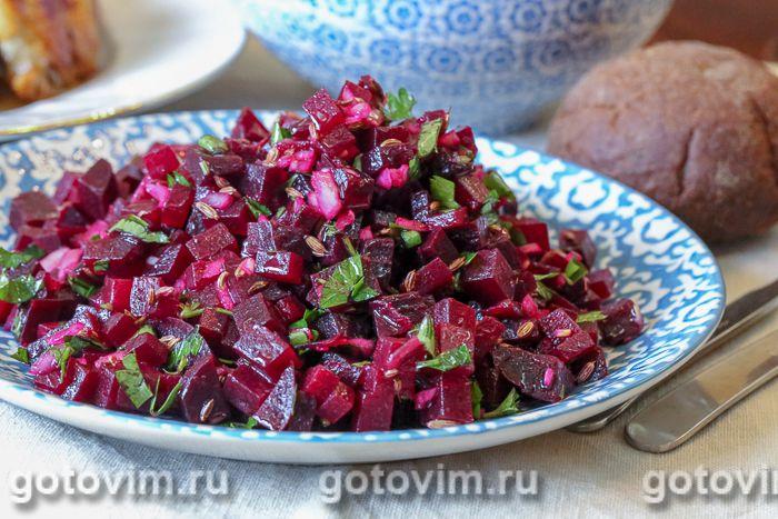 Марокканский свекольный салат еда,пища,рецепты, кулинария