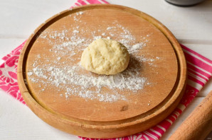 Сырные лепешки на молоке - фото шаг 8