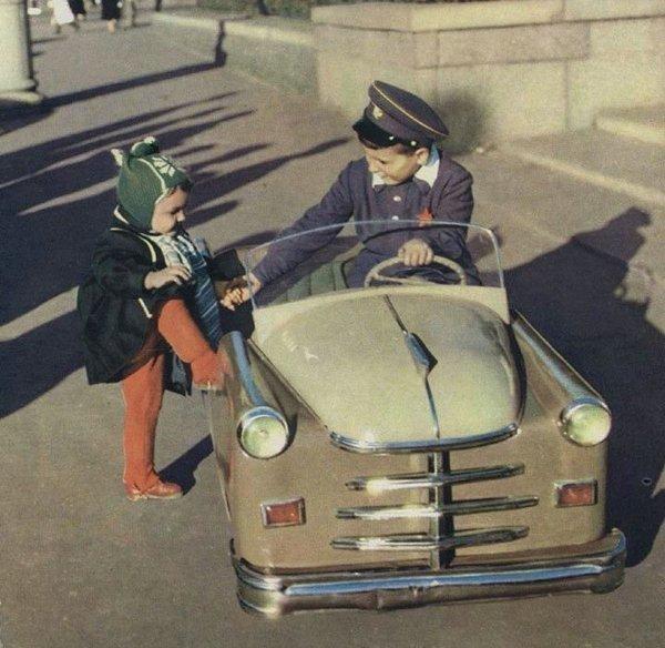 Педальные машинки. Мечта советского ребенка