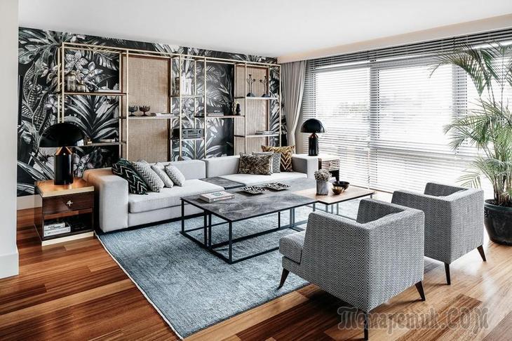 Квартира с безупречным дизайном из Турции