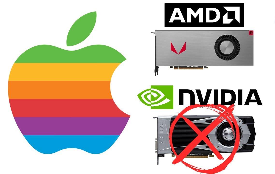 Nvidia находится в открытом противостоянии с Apple – больше никаких видеокарт и драйверов