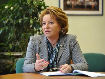 Матвиенко заявила о безотлагательности в вопросе повышения пенсионного возраста