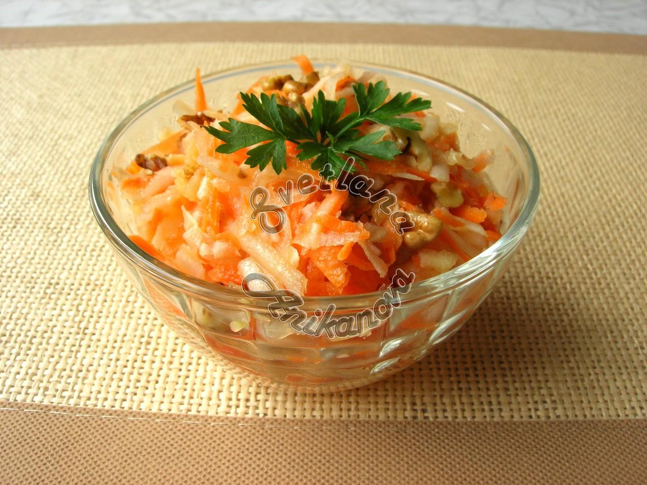 Салат из топинамбура «от 100 хворей» быстро, вкусно и полезно