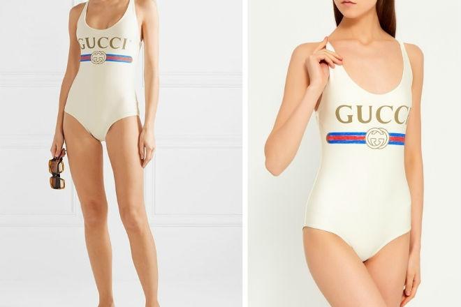 Gucci выпустили купальник, в котором нельзя купаться стиль