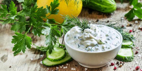 диетические соусы: соус с сыром фета