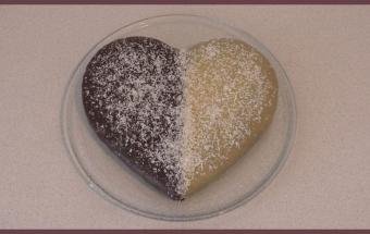Бисквит с какао и кофе