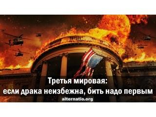 Третья мировая: если драка неизбежна, бить надо первым россия