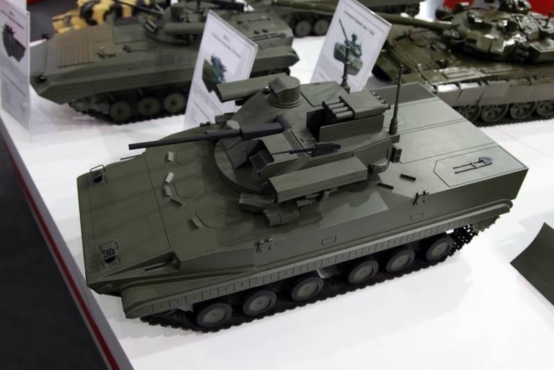 Боевая машина Б-19, ее преимущества и перспективы оружие