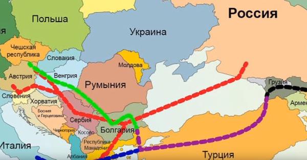 """Венгрия больше не хочет зависеть от транзита через Украину и надеется на продолжение """"Турецкого потока"""""""