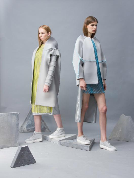 Своеобразный способ обработки ткани - ключевая особенность коллекции модной одежды Provo-CUT.