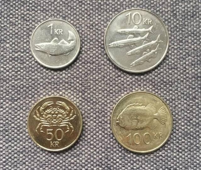 Монеты с изображением рыб