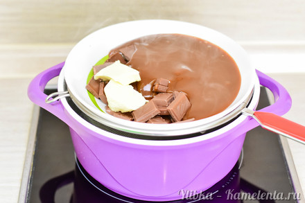Приготовление рецепта Шоколадная помадка к чаю шаг 3