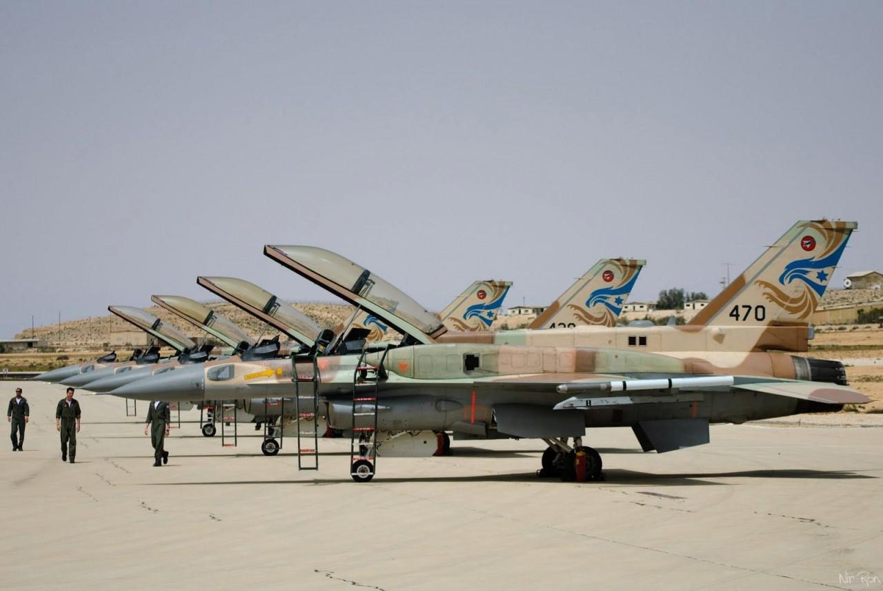 Количество боевых летчиков в ВВС Израиля