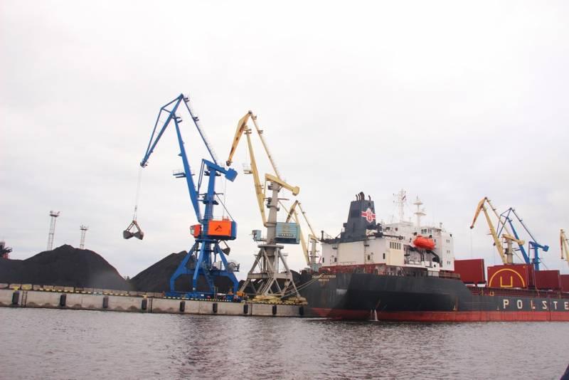 Новый российский порт остави…