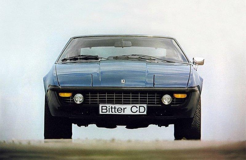 Bitter CD – Опель в итальянском кузове, с американским мотором bitter, bitter cd, opel, opel diplomat, авто, автомобили, концепт, концепт-кар