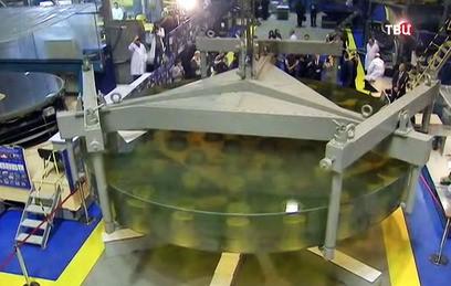 РАН получила реконструированное зеркало телескопа БТА