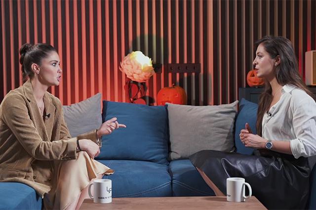 """Агата Муцениеце о браке с Павлом Прилучным и страхе новых отношений: """"Мне реально нравилось, что он агрессивен"""" Интервью"""