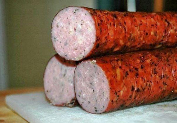 Куриная домашняя колбаса к праздничному столу — настоящий деликатес!