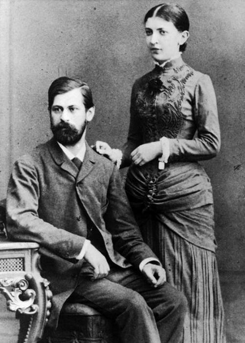 Доктор Фрейд и Марта: брак, который продлился 53 года