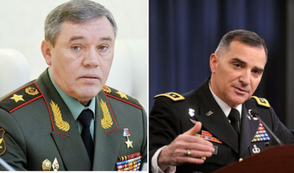 Начальник ГенштабаВС России иглавком ОВС НАТО договорились овстрече