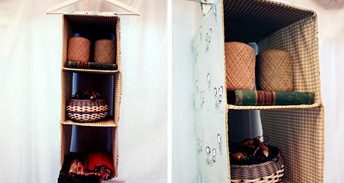 Органайзер-«полочки» в шкаф