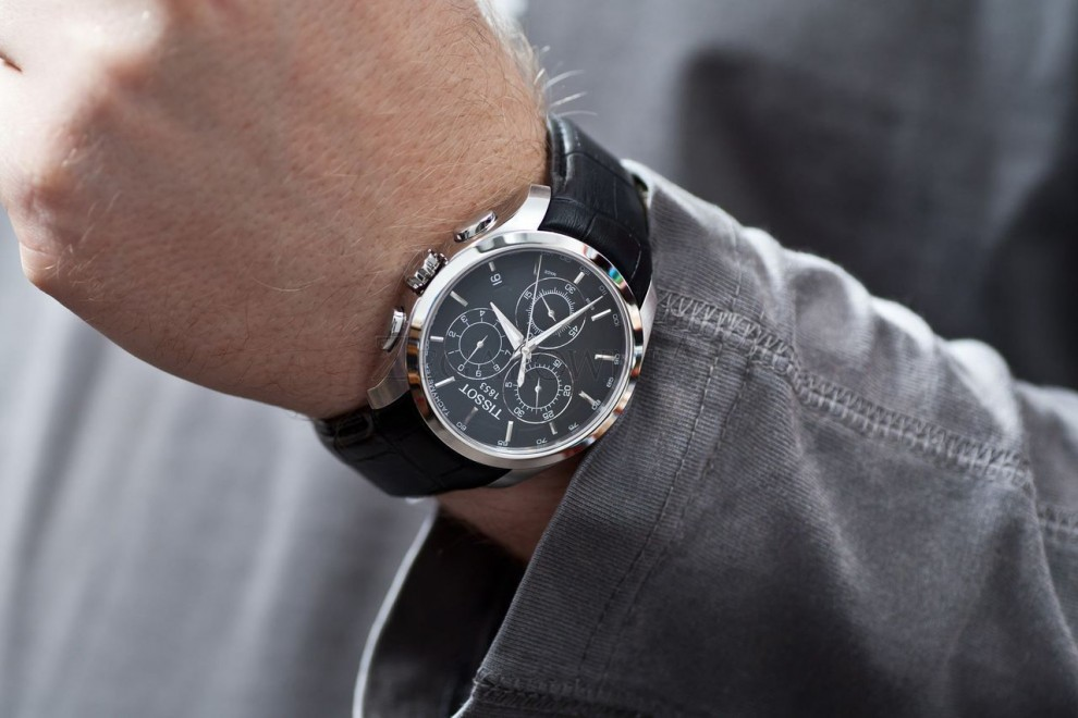 Часы Тиссот — аксессуар для настоящих мужчин