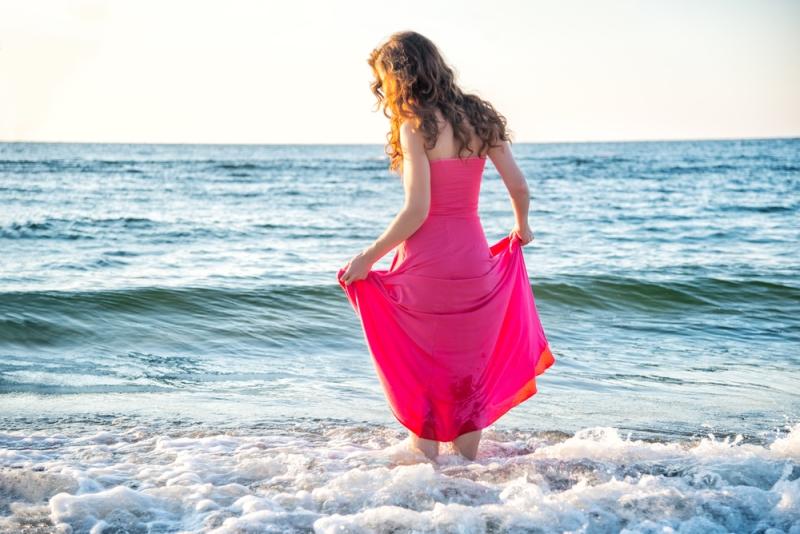Пляжный наряд в стиле бохо з…