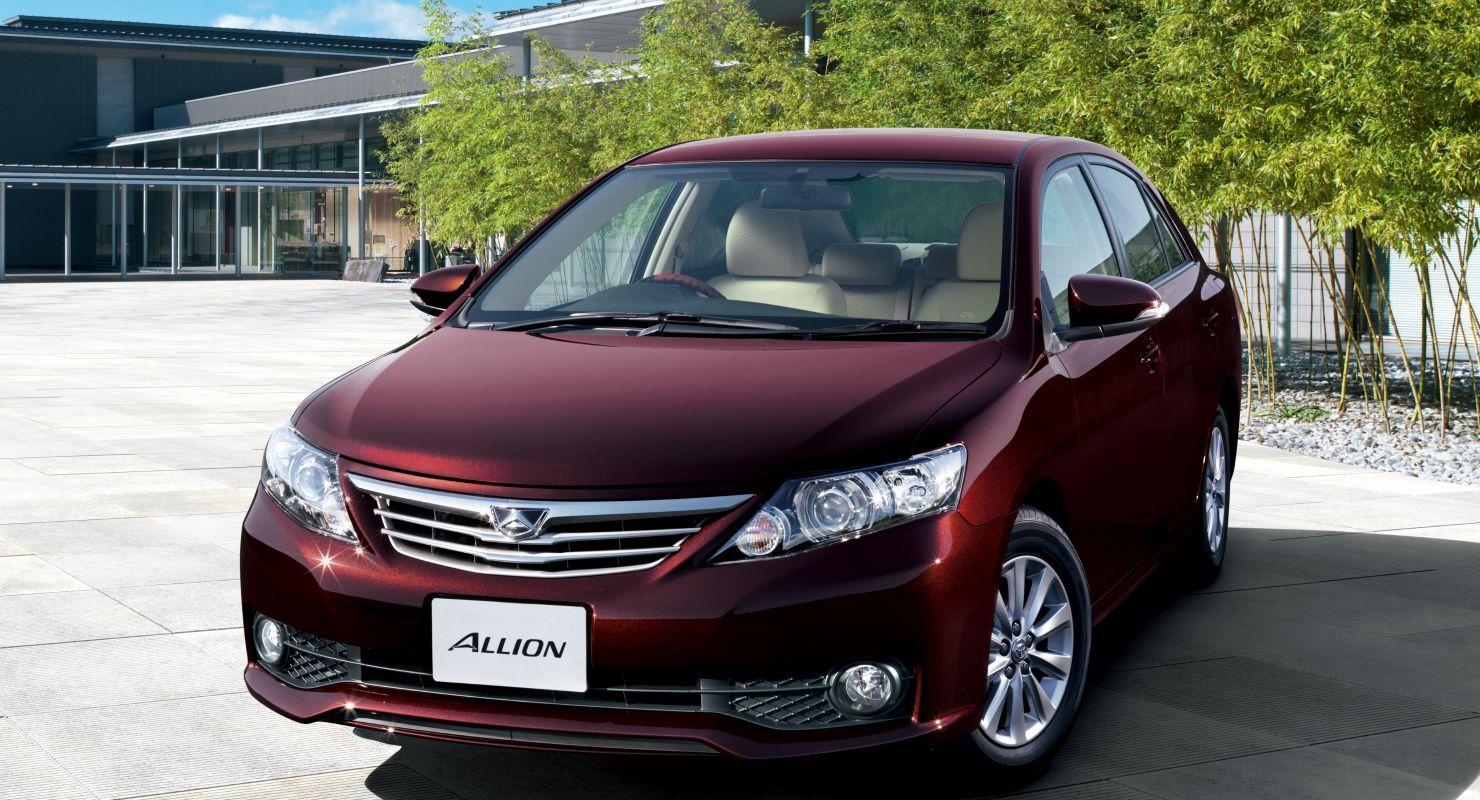 2 поколения модели Toyota Allion Автомобили