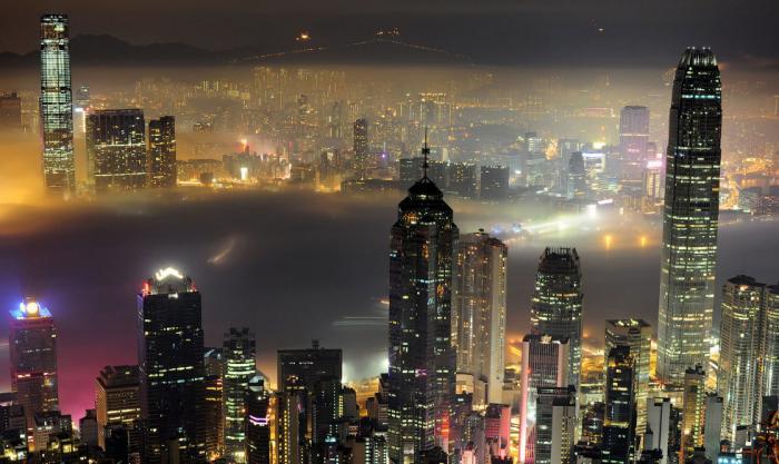 Красота пейзажей Гонконга