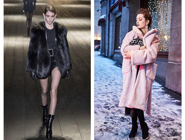 Как носить шубу, чтобы не выглядеть -деревней-: 5 стильных образов грядущей зимы