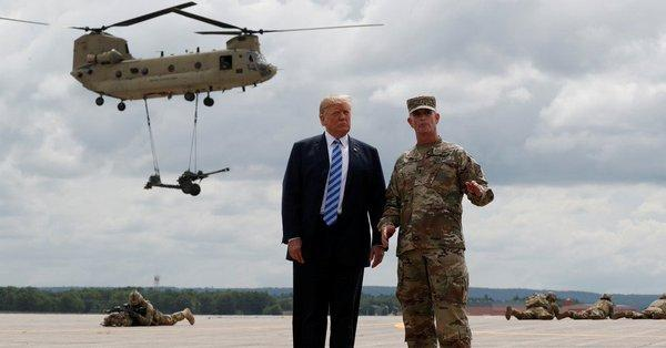 Трамп рассматривает возможность замены военнослужащих США в Афганистане наемниками