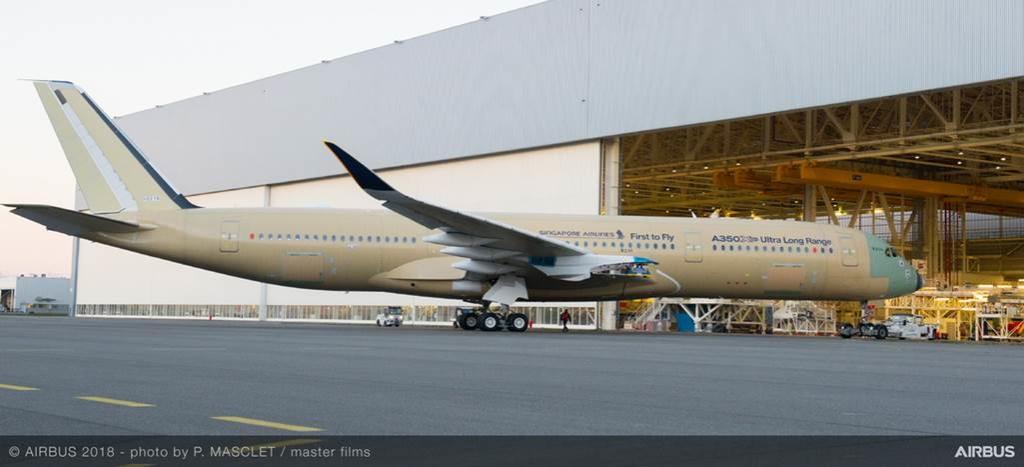 Airbus выпустила самый дальнобойный самолет