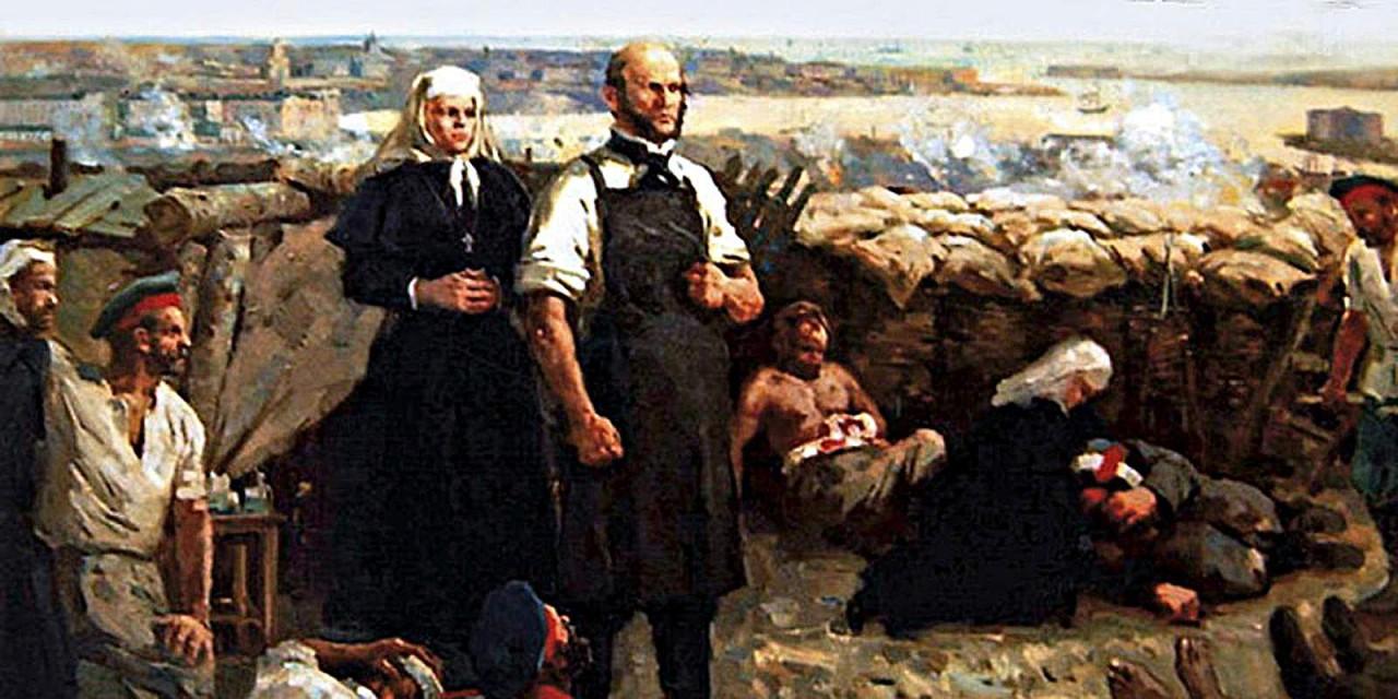 Резать, как Пирогов: Крымска…